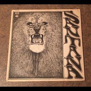 """SANTANA """"SELF-TITLED"""" DEBUT Vinyl Lp Album"""